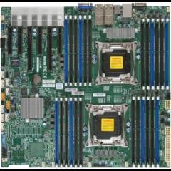 X10DRC-T4+ 2S-R3,2PCI-E16(g3)3PCI-E8,E4v8,4×10GbE-T,8SAS3(LSI3108),10sATA3,24DDR4-2133,IPMI