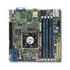 X10SDV mITX Xeon D-1540(45W,8c@2.0GHz,akt.), PCI-E16,2GbE,4DDR4, 6sATA,M.2, IPMI~