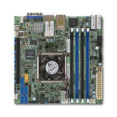 X10SDV mITX Xeon D-1587(65W,16c@1,7GHz, akt.), PCI-E16,2×10GbE-T&2GbE,4DDR4, 6sATA,M.2, IPMI~