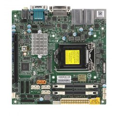X11SCV-L H310,S1151,PCI-E16g3,M.2,2GbE,2SO-DDR4, 3sATA3,audio,HDMI,DVI,DP,mITX~