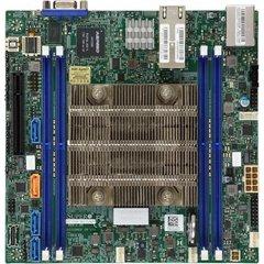X11SDV mITX Xeon D-2166NT (QAT,85W,12c@2,0GHz, pas.), PCI-E8,2×10GbE-T,4DDR4, 4sATA+4sATA/1NVMe, IPMI~