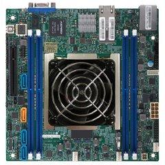 X11SDV mITX Xeon D-2183IT (100W,16c@2,2GHz, aktiv), PCI-E8,2×10GbE-T,4DDR4, 4sATA+4sATA/1NVMe, IPMI~