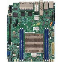 X11SDW WIO Xeon D-2123IT (60W,4c@2,2GHz) PCI-E32,2×10GbE-T,2×10GbE(SFP+),9GbE, 4DDR4,4sATA,M.2,IPMI~