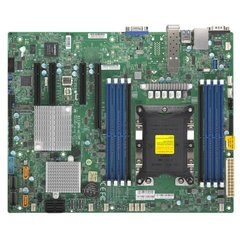 X11SPH-nCTPF 1S-P,0/1PCI-E16,2/3-E8,4-E8g3,E4v-E8, 2×10GbE SFP+, 10sATA3, 8SAS3, 2NVMe, M.2, 8DDR4-2666,IPMI